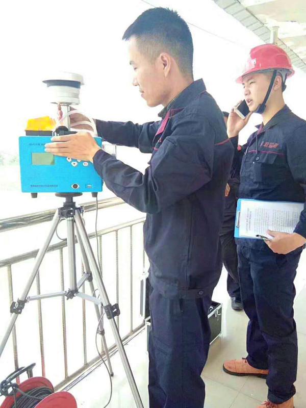 西溪纸板厂污染物排放现状环境监测项目